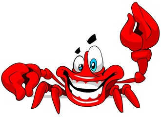 happy crab