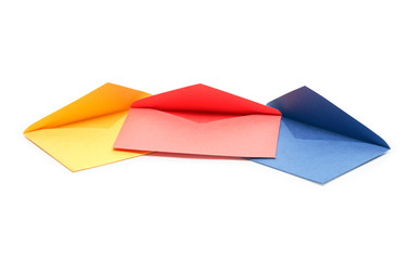 Colorful Empty Envelopes