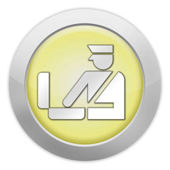 "Light Colored Icon (Yellow) ""Customs Symbol"""
