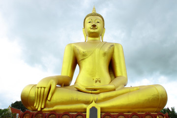 A big Buddha