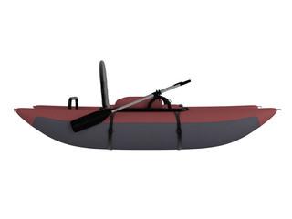 Inflatable catamaran
