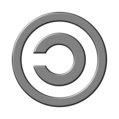 Copyleft sign