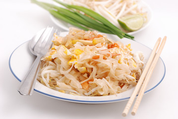 Phad thai, Fried noodle