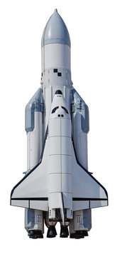 Spaceship Buran in Samara, Russia