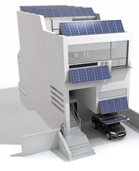 Contemporary Solar Haus (focus)