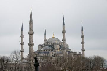 Blaue Moschee - Istanbul / Türkei