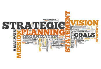 "Word Cloud ""Strategic Planning"""