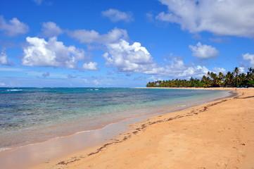 la spiaggia di Las Terrenas