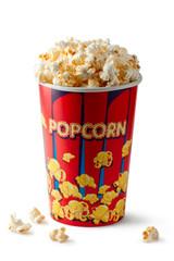 Full bucket of popcorn