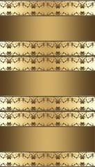 hintergrund damast mustertapete ornament braun beige gold