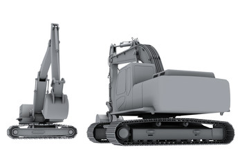 Grey model of the diggers