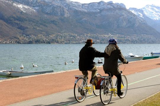 Annecy en vélo