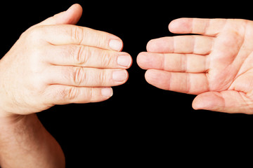 Zwei Hände 057