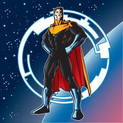 Aluminium Prints Superheroes Captain Blast Beam 5