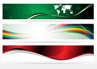 Banners for web (Vector collection)