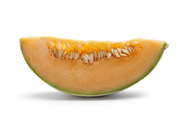 Slice of Cantaloupe melon