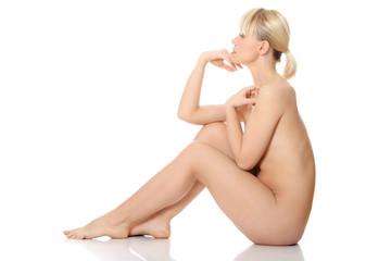 Beautiful nude woman.