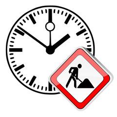 Bauarbeiter Uhr