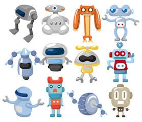 Spoed Foto op Canvas Robots cartoon robot icon
