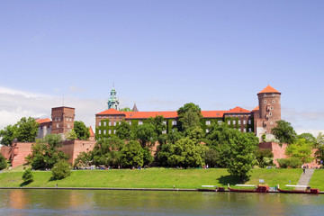 Foto op Aluminium Krakau Wawel Royal Castle in Poland