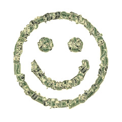 Smile from dollars