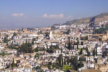 Albaicin - Altstadt von Granada - Analusien - Spanien