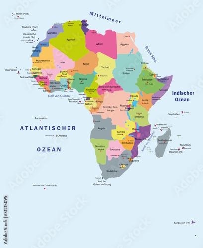 Afrika Karte Staaten.Afrika Politisch Stockfotos Und Lizenzfreie Vektoren Auf Fotolia