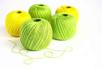 A set of yarn for knitting