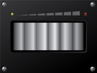Volume control with led