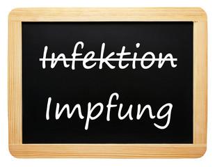 Infektion / Impfung - Konzept Medizin - freigestellt