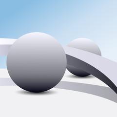 Metaphysics. Balls and bridge
