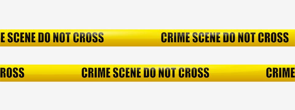 Crime Scene Tape. transparency, eps10