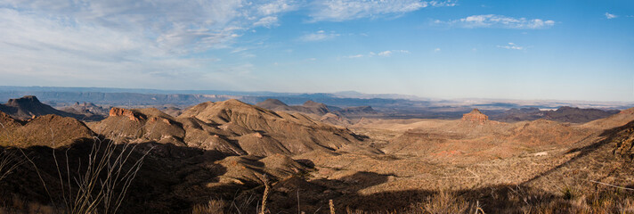 Big Bend National Park on the morning from Dodson trail