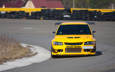 Foto op Textielframe Snelle auto s Racecar