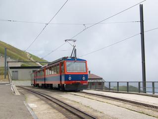 Ferrovia a Cremagliera in Vetta sul Monte Generoso (CH)