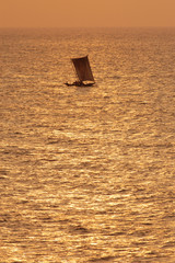 catamaran,sunset,travel