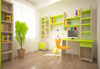 green children room