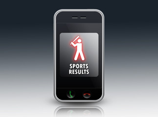 """Smartphone """"Sports Results"""""""