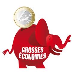 Tirelire, Grosses Economies