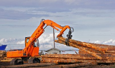 Logging pickup Claw