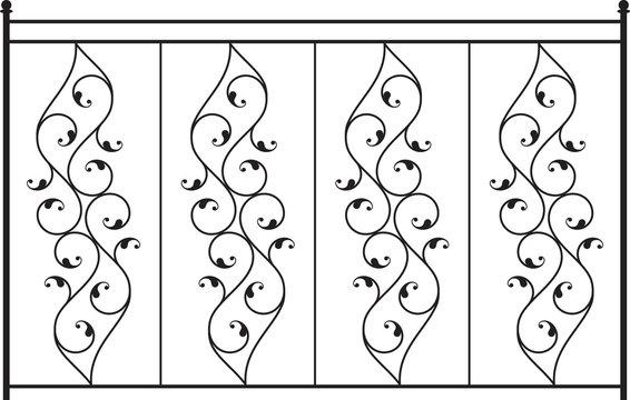 wrought iron Gate, fance design