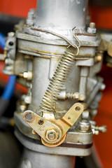 Wall Mural - vintage RV engine carburetor closeup