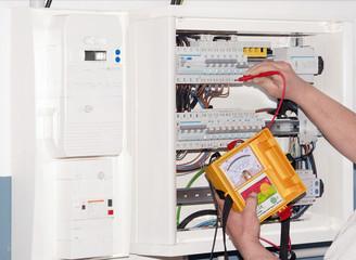 mesure sur tableau électrique