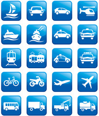 Transport buttons icons