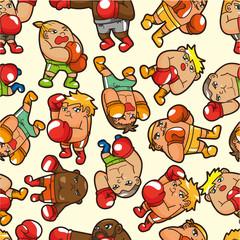 seamless boxer pattern