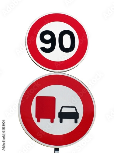 double panneau de signalisation verticale photo libre de droits sur la banque d 39 images fotolia. Black Bedroom Furniture Sets. Home Design Ideas