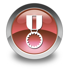"Red Glossy Pictogram ""Award Medal"""