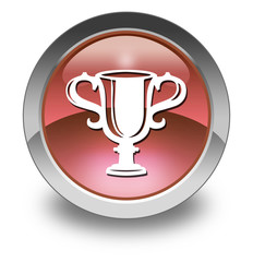 "Red Glossy Pictogram ""Award Cup"""