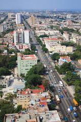 Vedado Quarter in Havana, Cuba