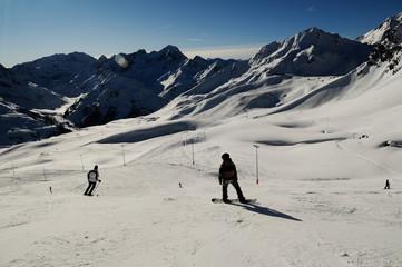 Skiing in Kuthai